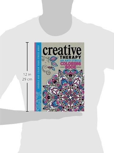 Libro Creative Therapy Adult Coloring Book: An Anti-stress C ...