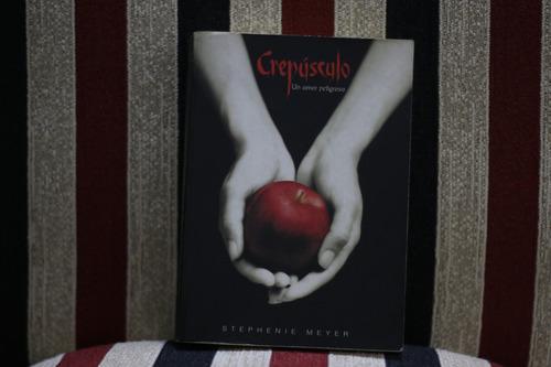 libro crepúsculo - stephenie meyer - inmaculado