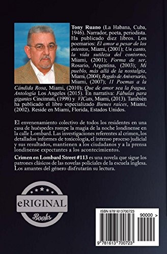 libro crimen en lombard street #113 - nuevo