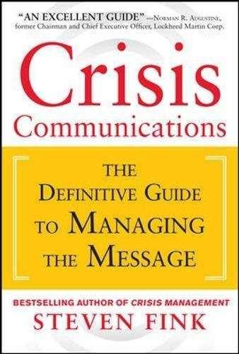libro crisis communications - nuevo