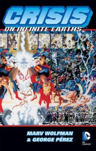 libro crisis on infinite earths - nuevo -