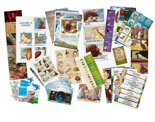 libro cristiano escuela bíblica vacacional en la naturaleza