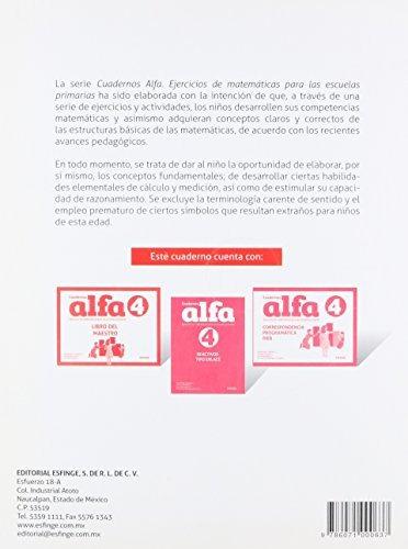 Libro Cuadernos Alfa Ejercicios De Matematicas 4 Primaria - $ 770.00 ...