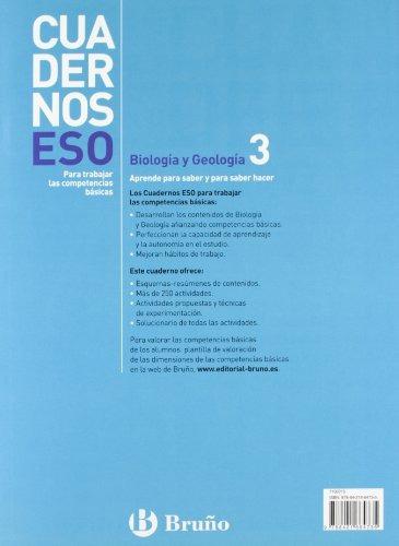 libro : cuadernos eso biologia y geologia 3 (spanish edit..