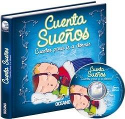 libro cuentasueños - cuentos para ir a dormir - incluye cd