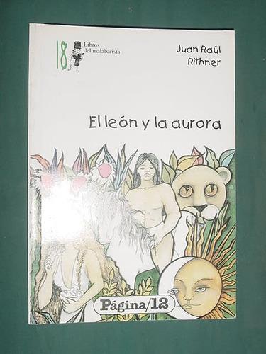 libro cuento el leon y la aurora juan raul rithner pagina 12