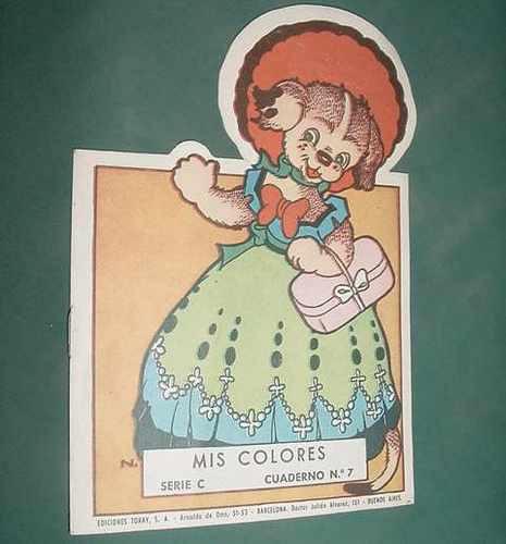 libro cuento infantil pintar mis colores - toray 1967