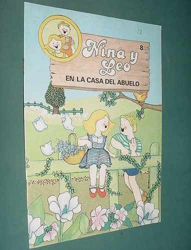 libro cuento nina y leo la casa del abuelo bruguera 1981