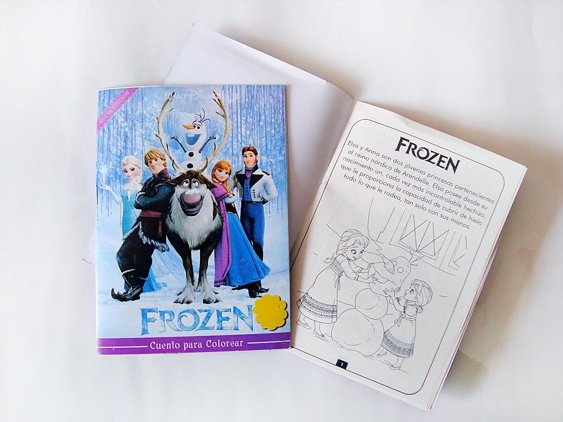 Libro - Cuento Para Colorear De Disney® (niñas) - Bs. 0,30 en ...