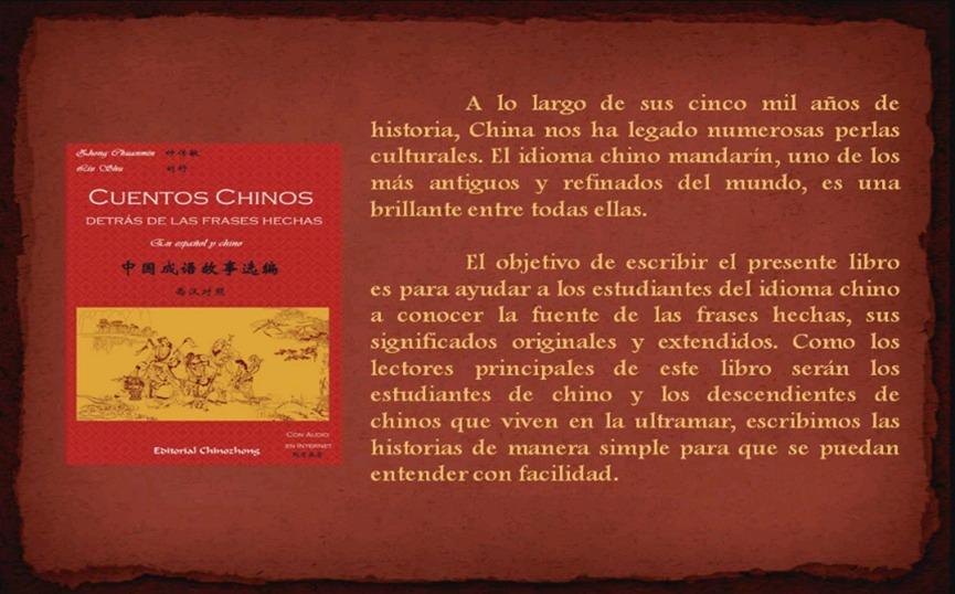 Libro Cuentos Chinos Detrás De Las Frases Hechas