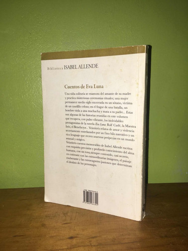 libro, cuentos de eva luna - isabel allende