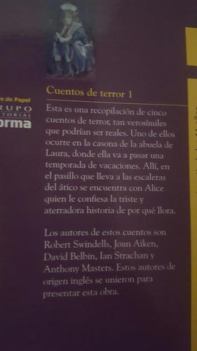 libro cuentos terror