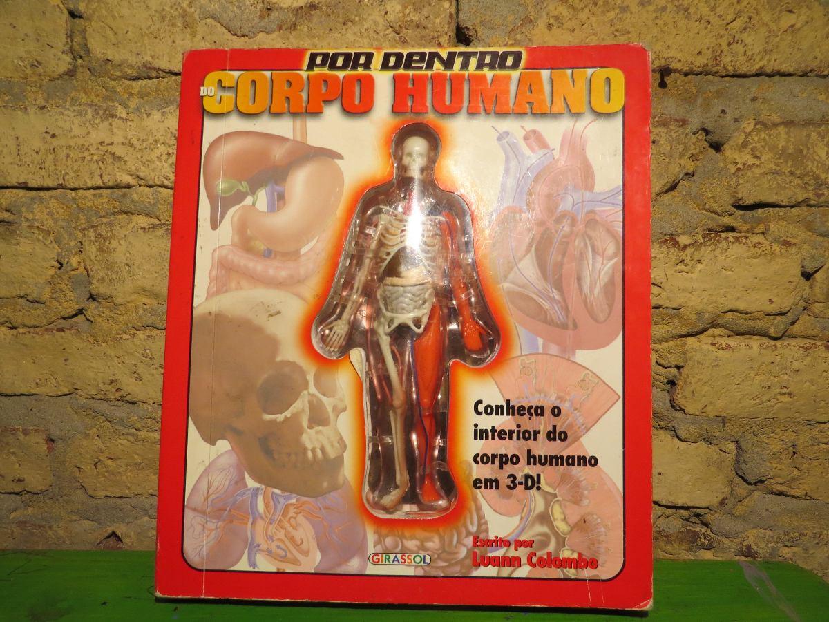 Libro Cuerpo Humano Por Dentro En 3d Real En Portuges - $ 750,00 en ...