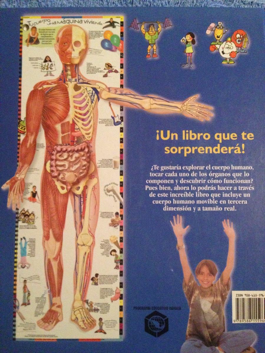 Libro Cuerpo Humano Tridimensional 3d - $ 500.00 en