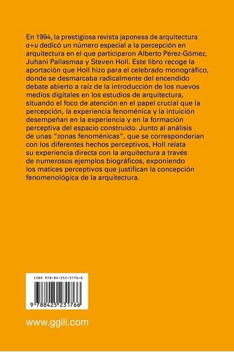libro cuestiones de percepcion. steven holl