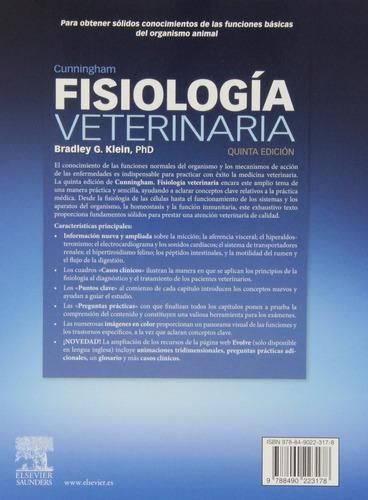 libro cunningham:fisiología veterinaria 5ª ed. impreso color
