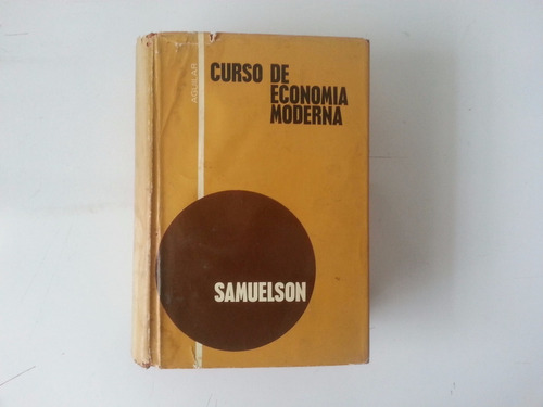 libro curso de economia moderna, paul. a samuelson