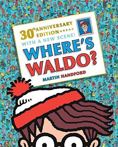libro d where's waldo? - nuevo