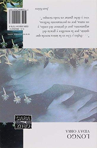 libro dafnis y cloe - nuevo