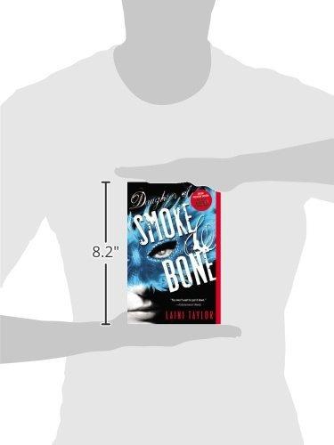 libro daughter of smoke & bone - nuevo