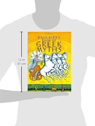 libro d'aulaires' book of greek myths - nuevo