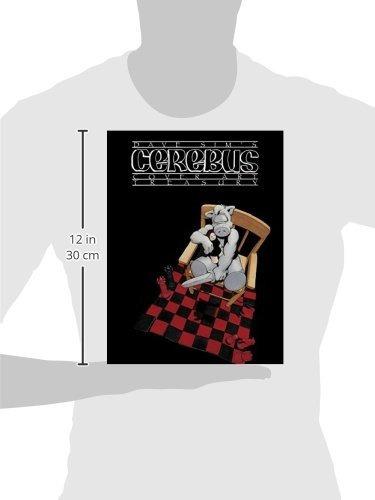 libro dave sim's cerebus: cover art treasury - nuevo