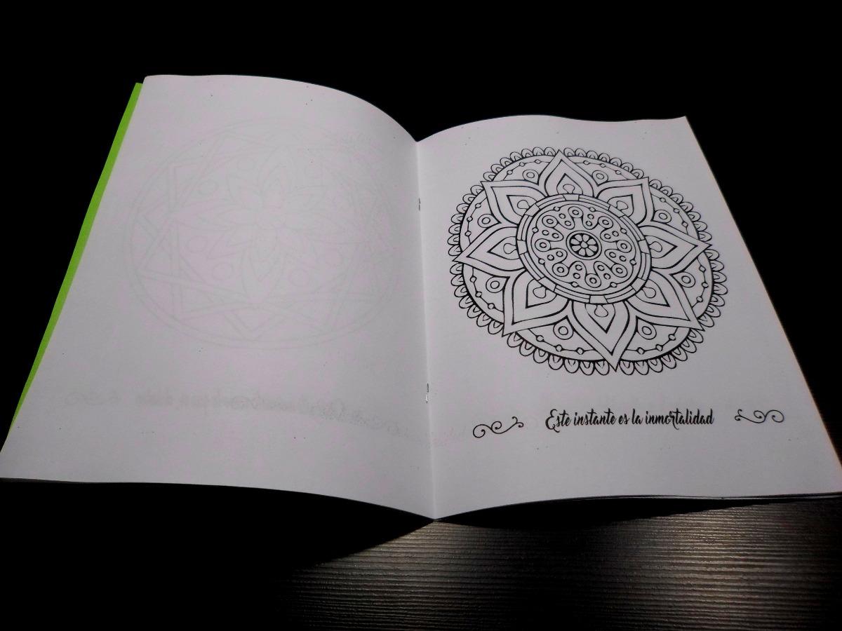 Libro De 10 Mandalas Para Colorear, Incluye Los Beneficios - $ 35,00 ...