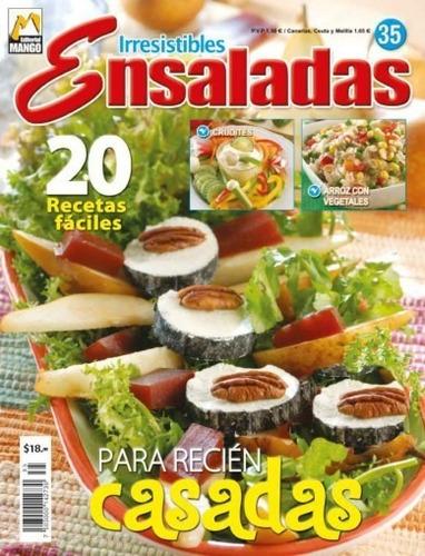 libro de 100 recetas irresistibles ensaladas