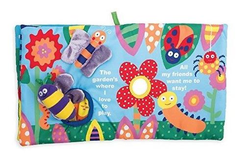 libro de actividades de manhattan toy soft con juguete anuda