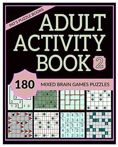 libro de actividades para adultos 2 180 rompecabezas de jueg