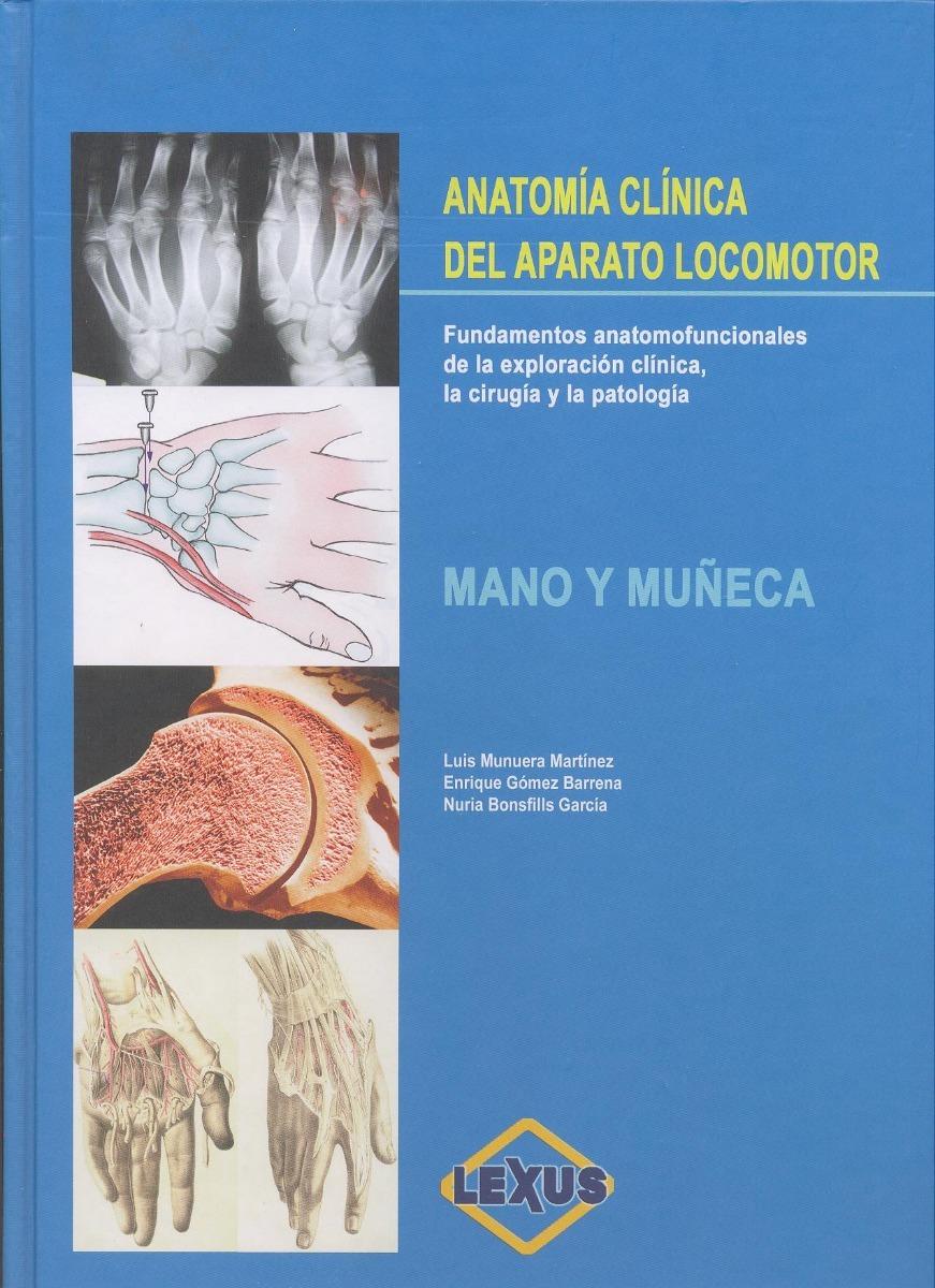 Libro De Anatomía Clínica Del Aparato Locomotor 1 Vol. - $ 790.00 en ...