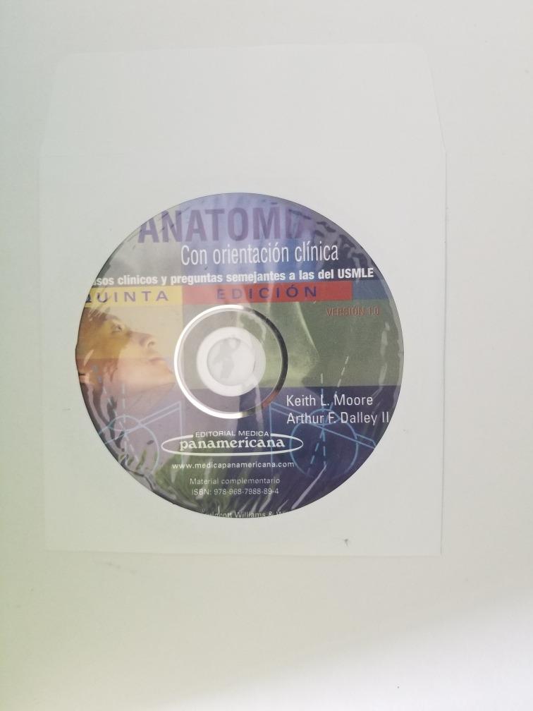 Libro De Anatomía De Moore - $ 580.00 en Mercado Libre