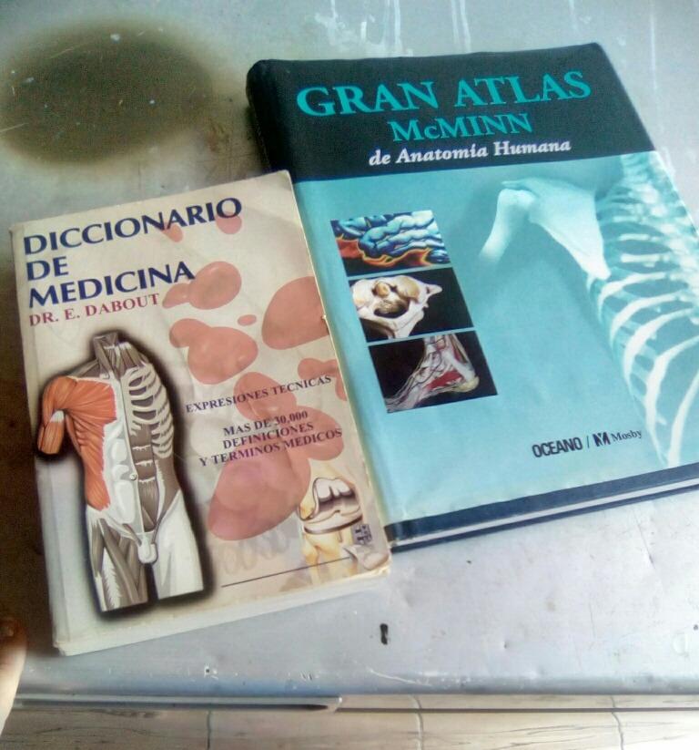 Libro De Anatomia Humana Atlas Mcminn Con Diccionario Medico - Bs ...