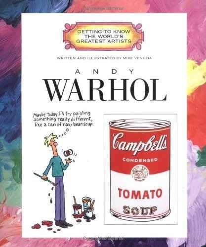 libro de andy warhol - nuevo