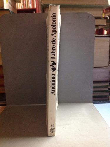 libro de apolonio- anónimoanonimo