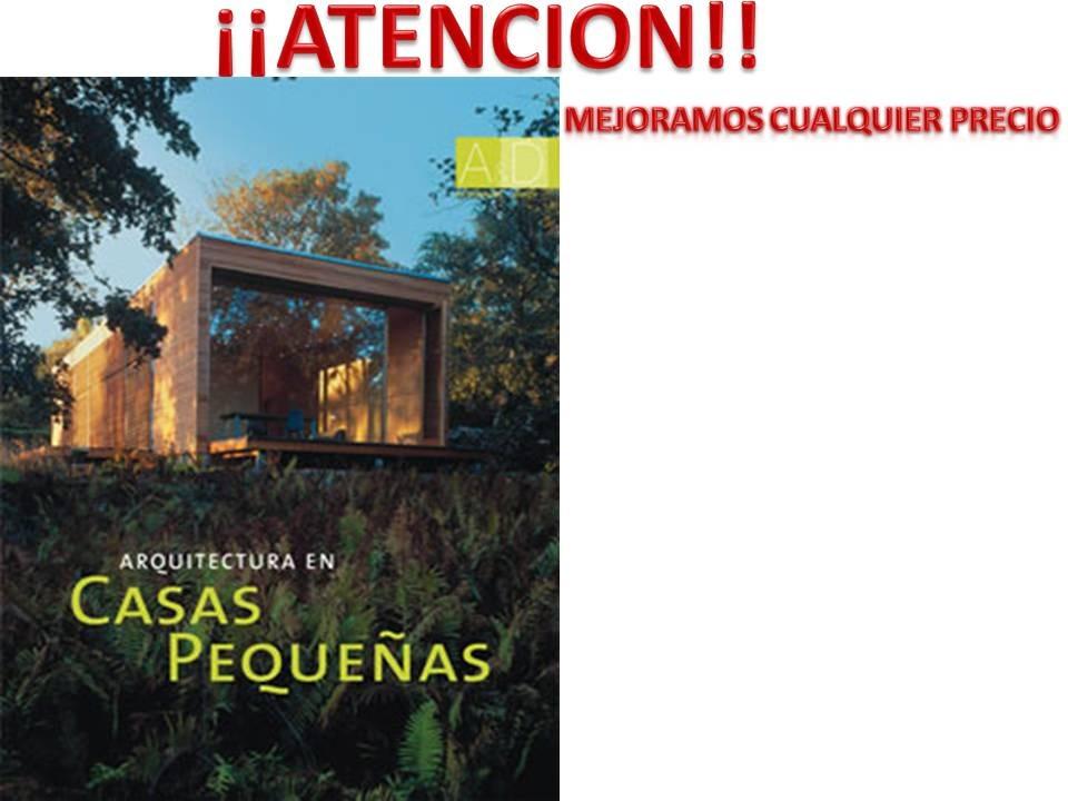 Libro de arquitectura en casas peque as 1 en for Arquitectura casas pequenas