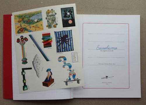 libro de arte argentino pintura moderna escuelismo, malba