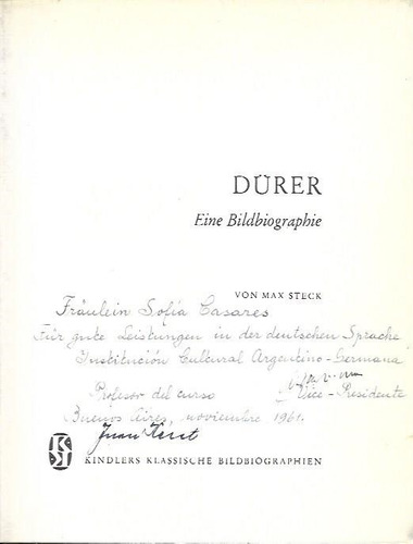 libro de arte : dürer, albrecht ( id. alemán ) m. steck