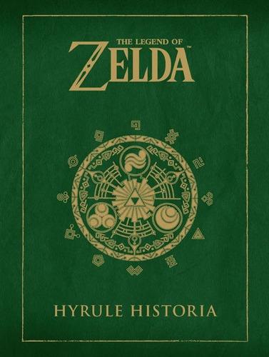 libro de arte the legend of zelda hyrule historia