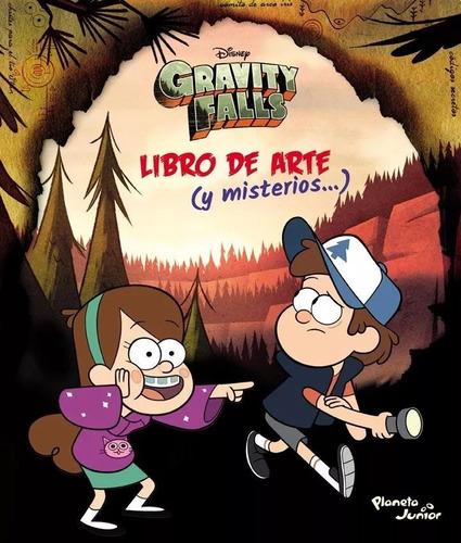 libro de arte y misterios gravity falls nuevo
