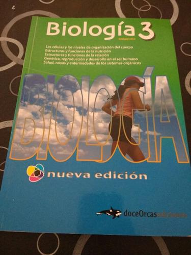 libro de biologia 3 nueva edicion doceorcas