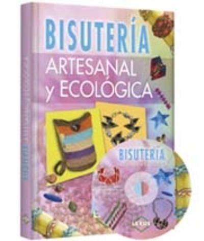 libro de bisuteria artesanal y ecologica con dvd lexus