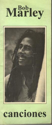 libro de canciones bob marley inglés español de colección