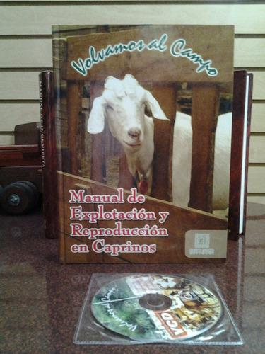 libro de caprino, manual de explotacion y reproducción concd