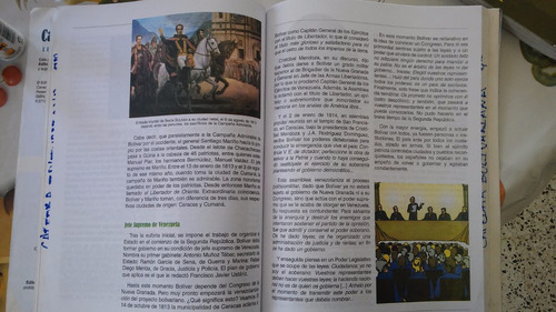 libro de cátedra bolivariana 9no
