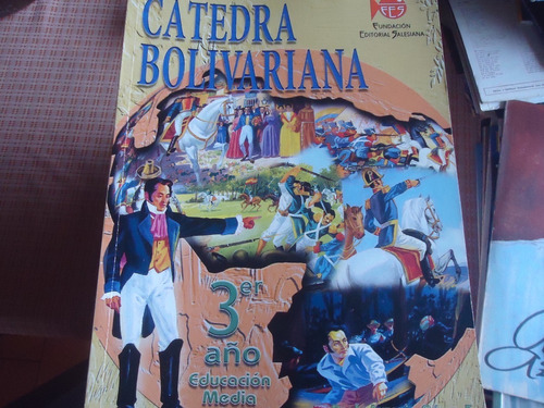 libro de catedra bolivariana editorial salesiana