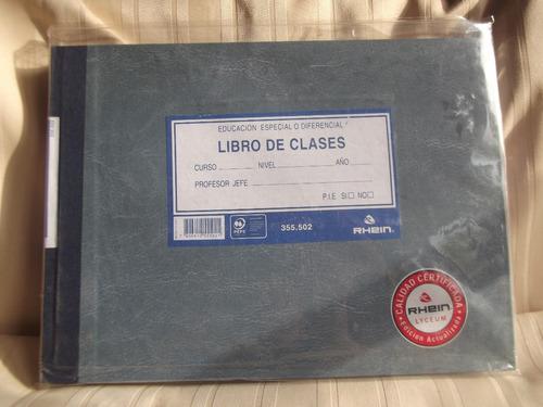 libro de clases