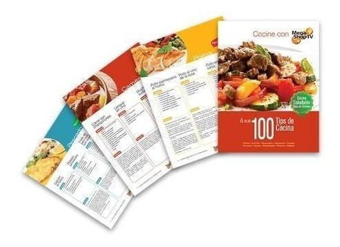 libro de cocina chef master mega shop tv