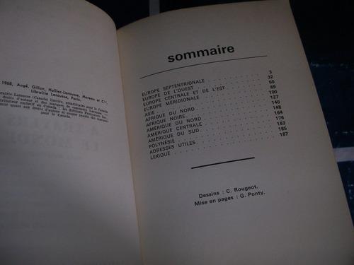 libro de cocina - cuisine a traves le monde - montigny