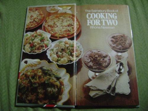 libro de cocina en inglés cooking for two, rhona newman
